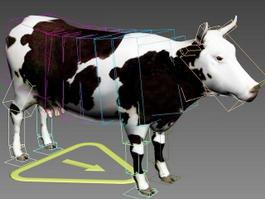 Cow Rig 3d model