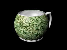 Fancy Mug 3d model