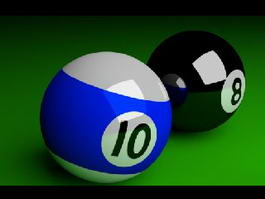 Cue Ball 3d preview