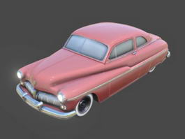 1940 Ford Coupe 3d model
