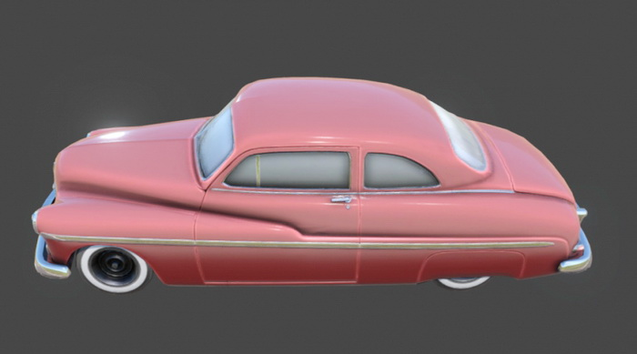 1940 Ford Coupe 3d Model Object Files Free Download