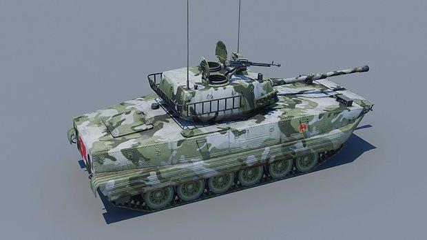Type 99 Tank 3d model