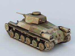 Old Tank 3d model
