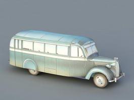 ZIS-16 Bus 3d model