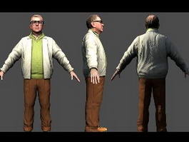 Pat Maine in Alan Wake 3d model