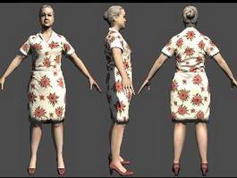 Wendy Desole in Alan Wake 3d model