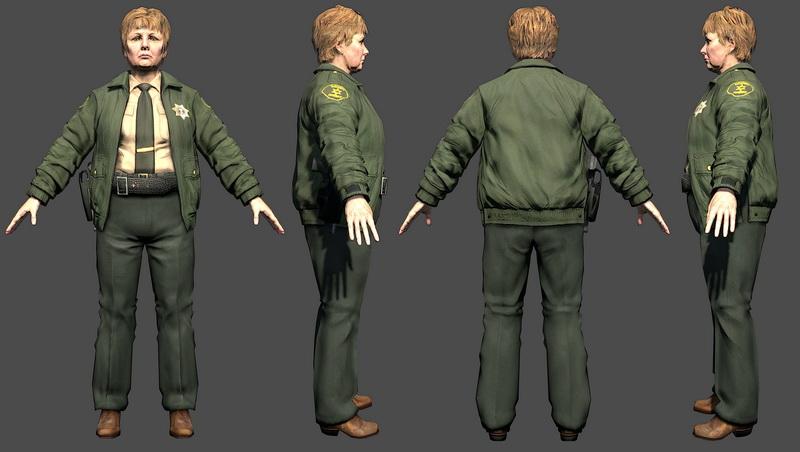 Deputy Sheriff Grant 3d model Object files free download - modeling