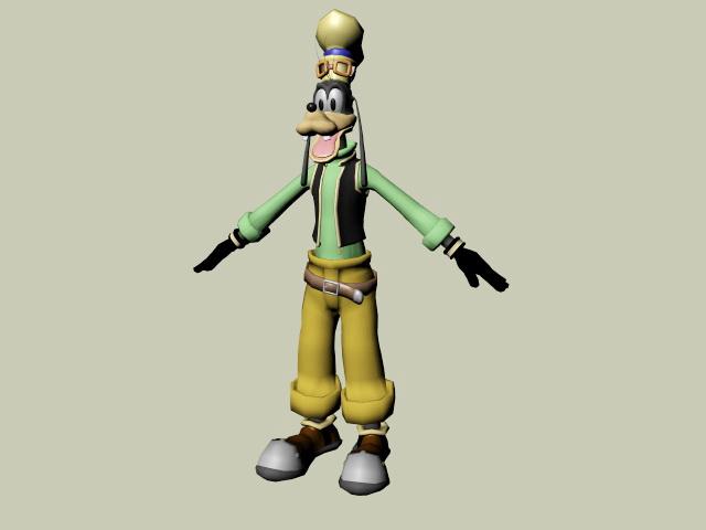 Goofy Character 3d model