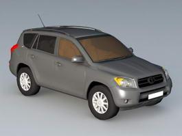 Toyota RAV4 Hybrid 3d model