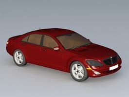 Mercedes E-Class 3d model