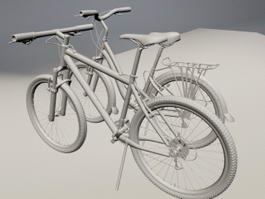Variable Speed Bicycles 3d model
