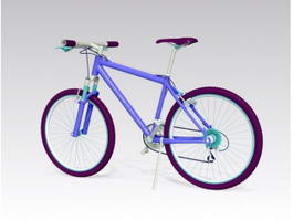 Blue Mountain Bike 3d model