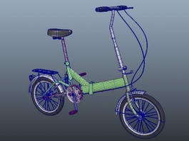 Lowrider Bike 3d model