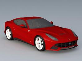 Ferrari Berlinetta 3d model