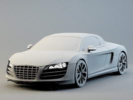 Audi D Model Free Download Cadnavcom - Audi car 3d