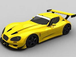 Gillet Vertigo Sports Car 3d model