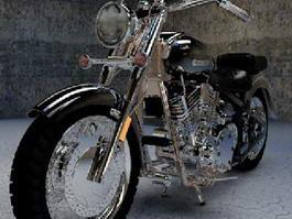 Yamaha Motorcycle 3d model