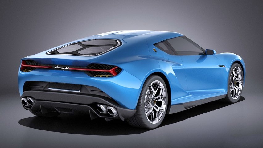 Lamborghini Asterion 3D Model