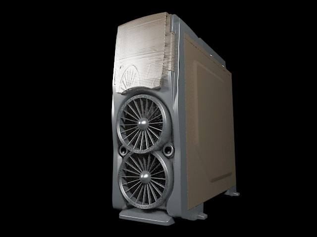 Cool Computer Case 3d Model 3ds Max Files Free Download