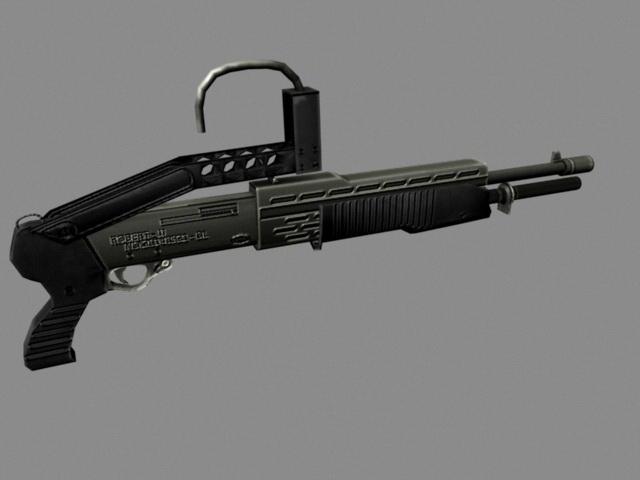 Combat Shotgun 3d model