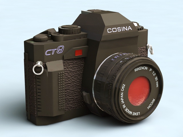 Old Cosina Camera 3d model