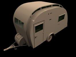 Carlight Caravan 3d model