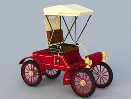 Antique Automobile 3d model
