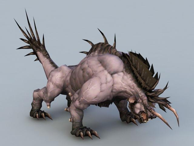 Beast Creature 3d model