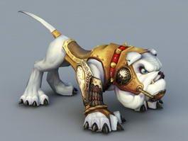 Anime Dog Mount 3d model