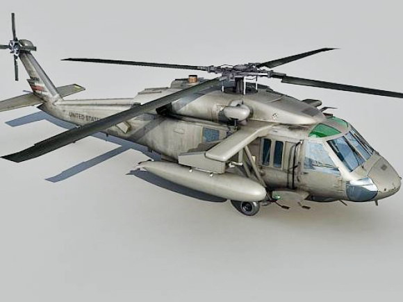 UH-60 Helicopter 3d model