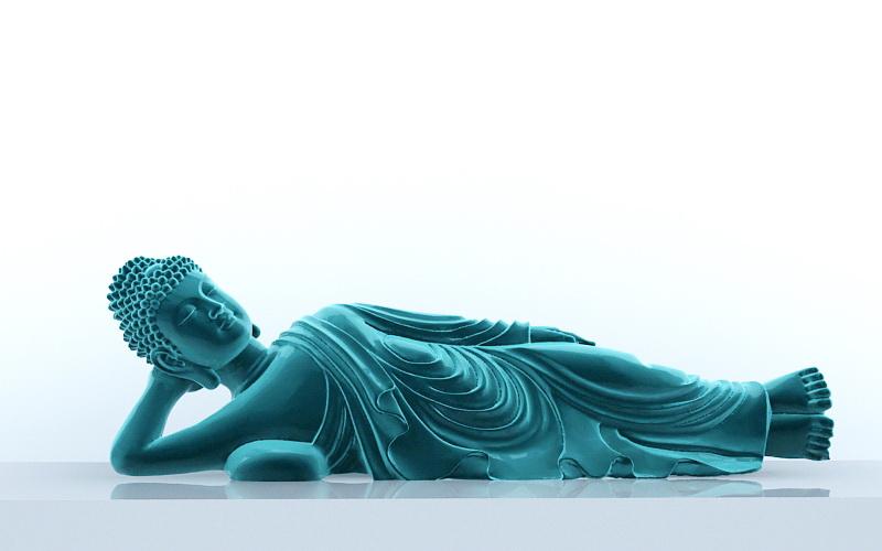 sleepy buddha sculpture 3d model 3ds max files free