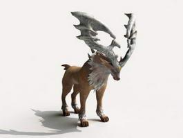 Deer Stag Rig 3d model