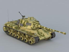 German Tiger Tank 3d model