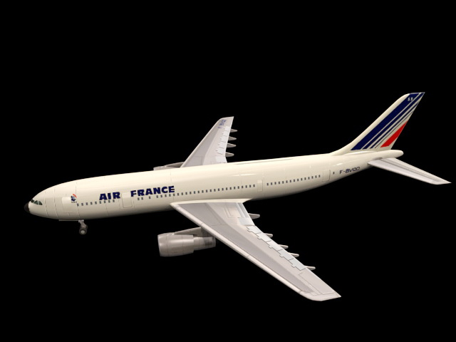 Airbus Airplane 3d model