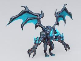 Ice Dragon Monster 3d model