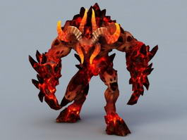 Minotaur Demon 3d model