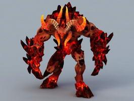 Minotaur Demon 3d model