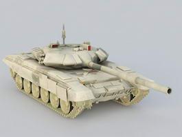 Russian T-90 Tank 3d model