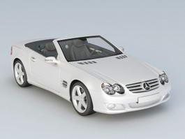 Mercedes SLl 500 Convertible 3d model