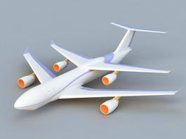 Future Airplane 3d model