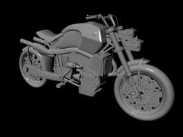 Sport Cruiser Motorcycle 3d model
