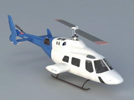 Business Helicopter 3d model