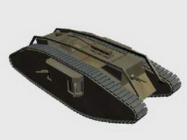 Female Tank 3d preview