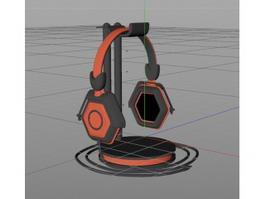 Headphone Series 3d model