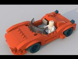 LEGO CAR 3d model