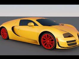 Bugatti Veyron Rig 3d model