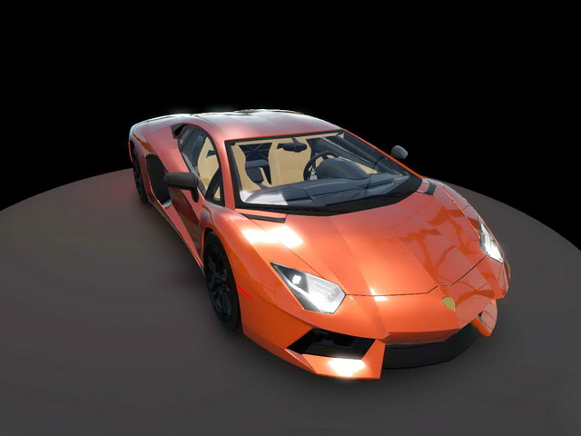 Lamborghini Aventador 3d Model Object Files Free Download Modeling