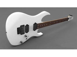 Electric Guitar Ibanez RG 3d model