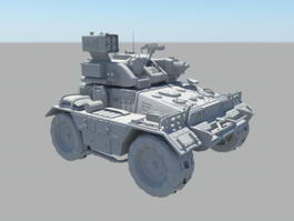 Military Armored Fighting Vehicle 3d model