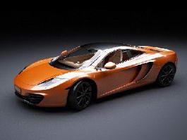 McLaren MP4-12C 3d model